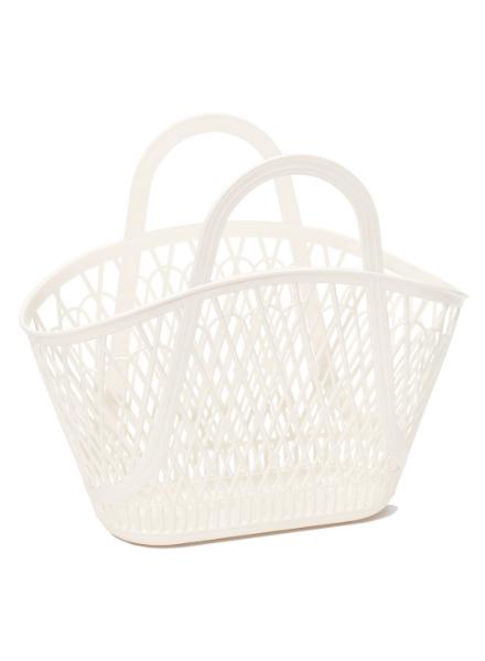 Sun Jellies Betty Basket Off White