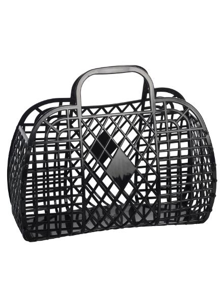 Sun Jellies Retro Basket (Large) Zwart
