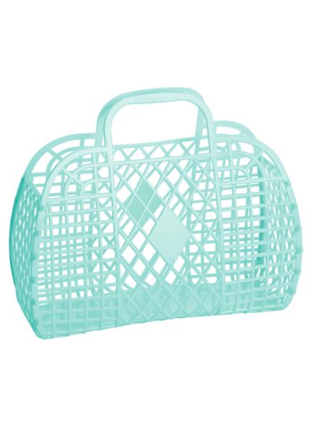 Sun Jellies Retro Basket (Large) Groen