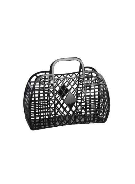 Sun Jellies Retro Basket (Small) Zwart