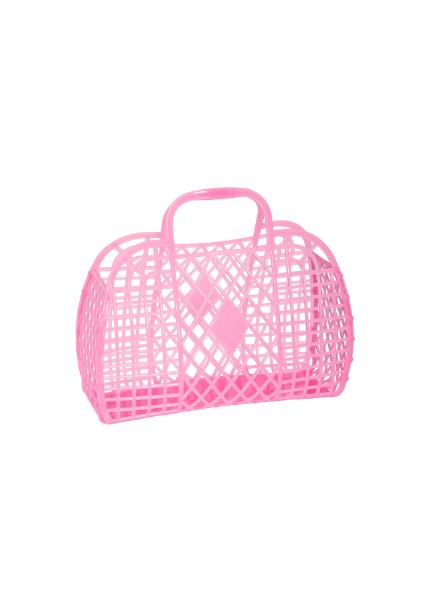 Sun Jellies Retro Basket (Small) Roze