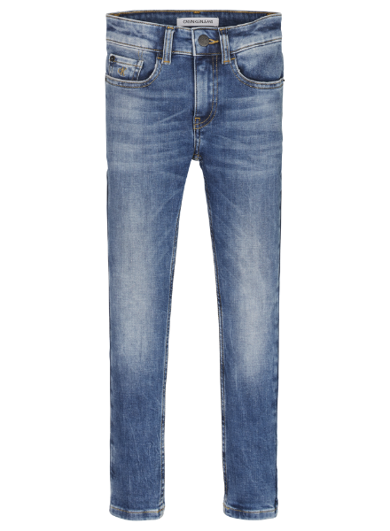 Calvin Klein SKINNY WASHED BLUE S 1BY