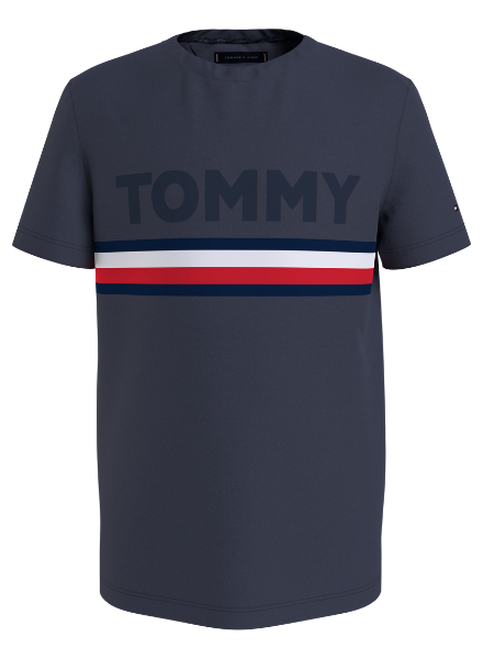 Tommy Hilfiger EMBOSSED TEE S/S