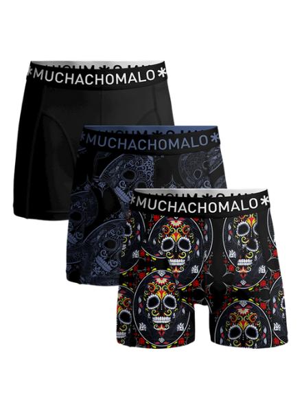 Muchachomalo Boys 3-pack short Muerto