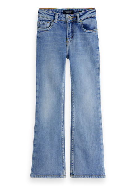 Scotch & Soda The Charm high-rise contains Organic Cotton—Crystal Clear