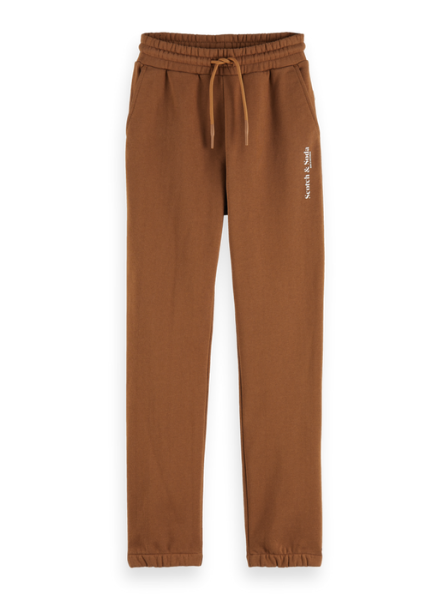 Scotch & Soda Relaxed-fit sweatpants in Organic Cotton