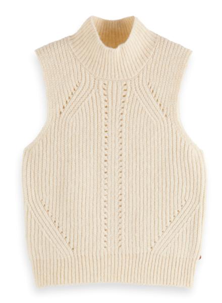 Scotch & Soda Chunky sleeveless knit