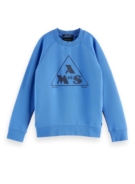Scotch & Soda Regular-fit artwork sweatshirt