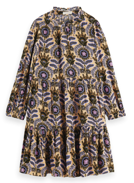 Scotch & Soda Wider-fit all-over printed dress