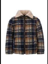 Looxs Revolution Check Teddy jacket