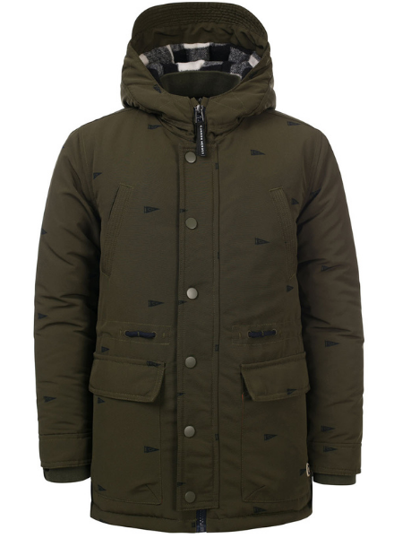 Common Heroes Parka jacket with print