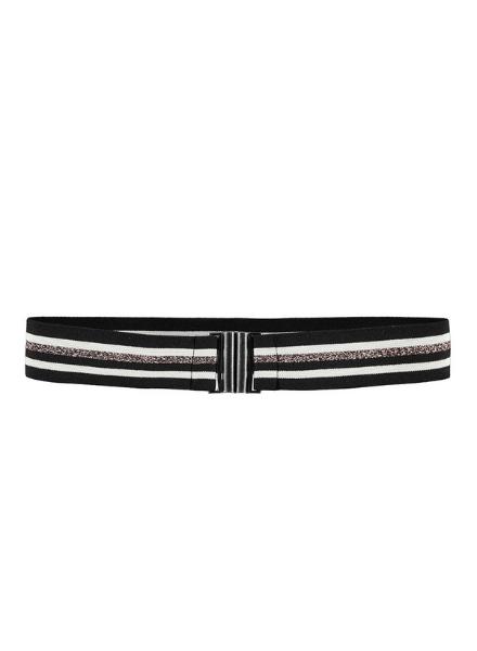 Looxs Revolution Lurex stripe belt