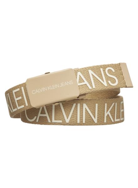 Calvin Klein Canvas Logo Belt