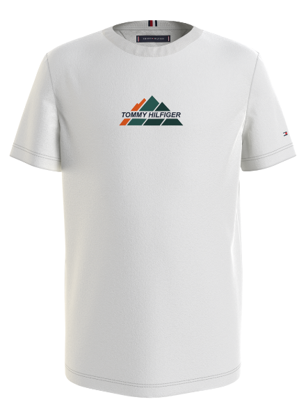 Tommy Hilfiger MOUNTAIN LOGO TEE S/