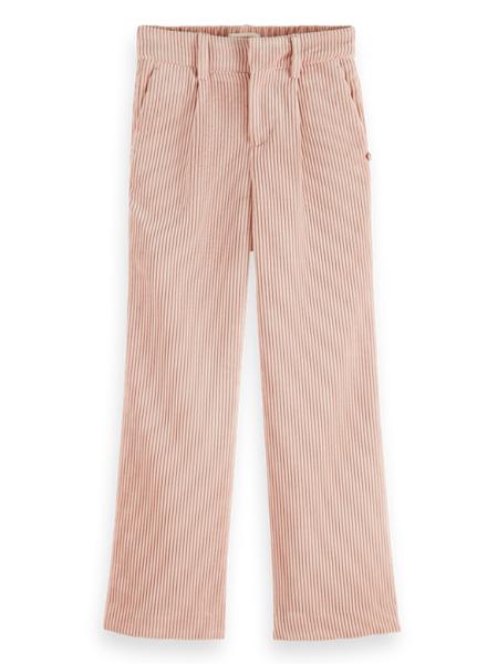 Scotch & Soda Corduroy wide-leg high-rise pants