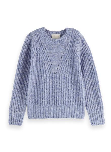 Scotch & Soda Voluminous-sleeved knit