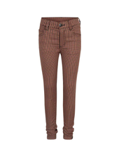 Indian Blue Jeans 5-pocket check pants