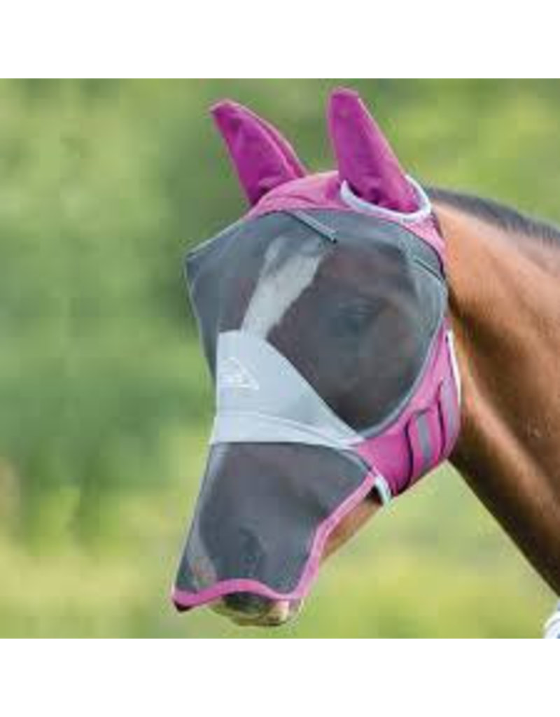 Shires Deluxe Fly Mask Ears/Nose