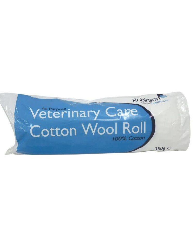 Robinson Animal Health Care Cotton Wool 350g Roll