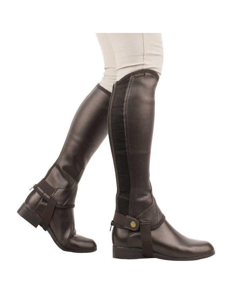 Saxon Equileather 1/2 Chaps - Childs