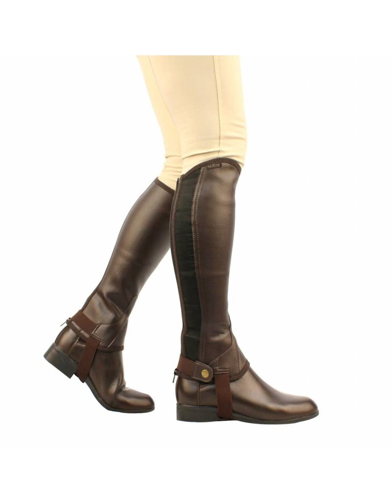 Saxon Equileather 1/2 Chaps - Adult