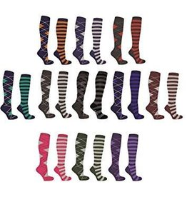 Mark Todd MT Ladies Socks Nvy/Blu 37-42