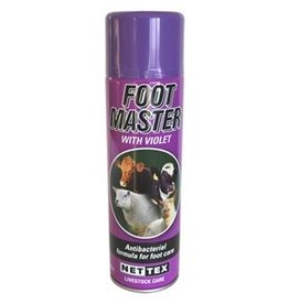 Nettex Footmaster Purple Spray