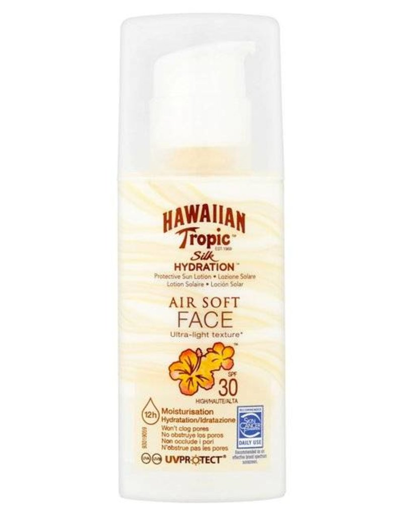 Silk Hydration Air Soft Face Sun Lotion SPF 30