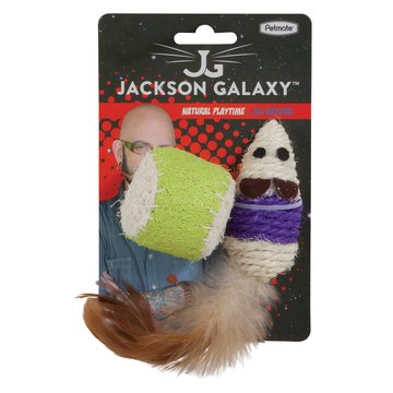 Jackson Galaxy Jackson Galaxy Touwmuis en -balletje