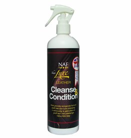 NAF Luxe Leather Clean & Conditioner 500ml