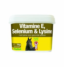 NAF Vitamine E & Selenium Plus 1kg