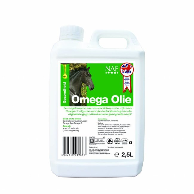 NAF Omega Olie 2,5Ltr