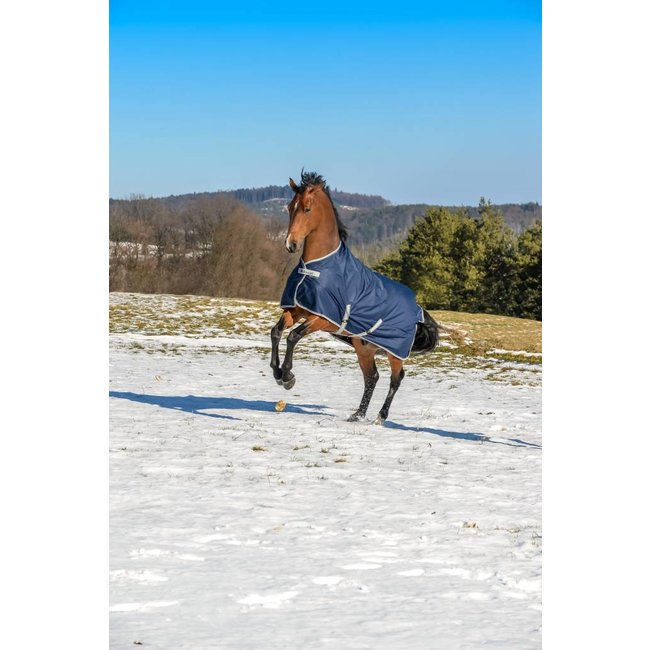 Bucas Freedom Turnout Light  Navy/Silver