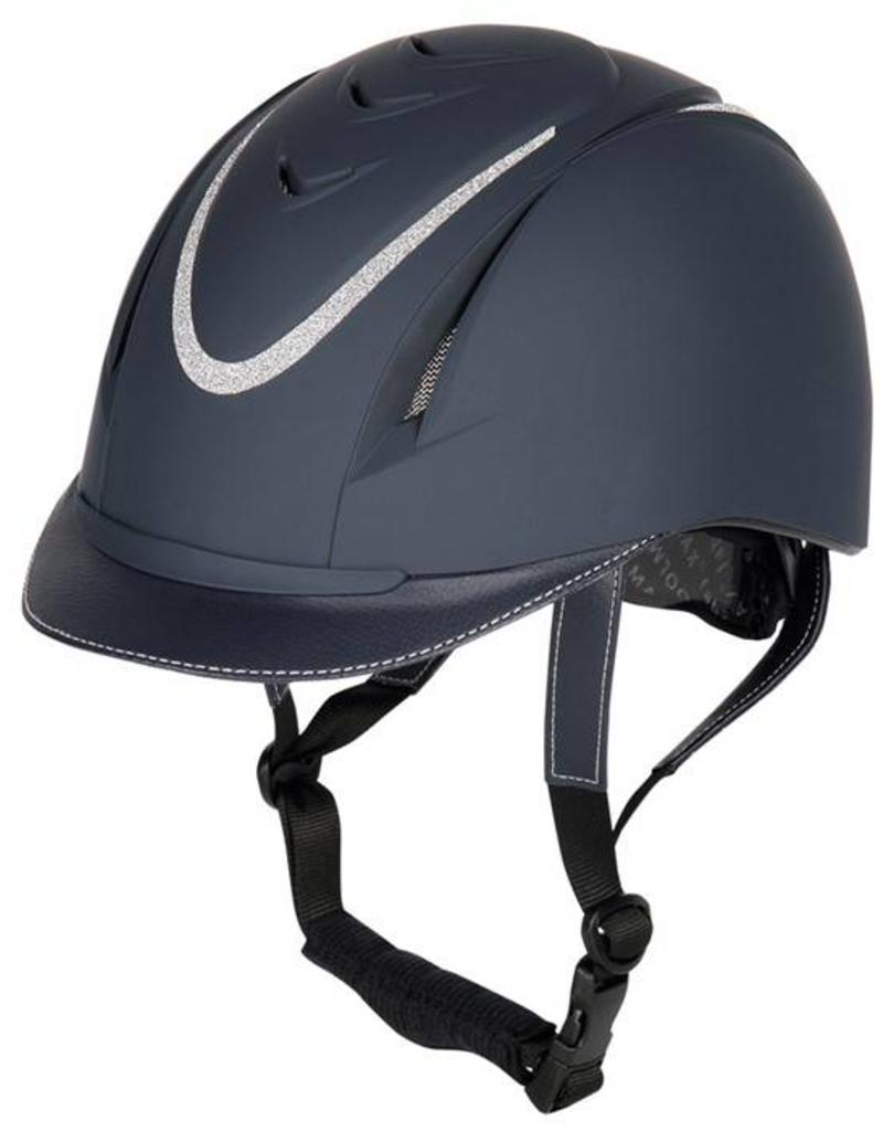 Harry Horse Safety ridinghelmet, Challenge, sparkle