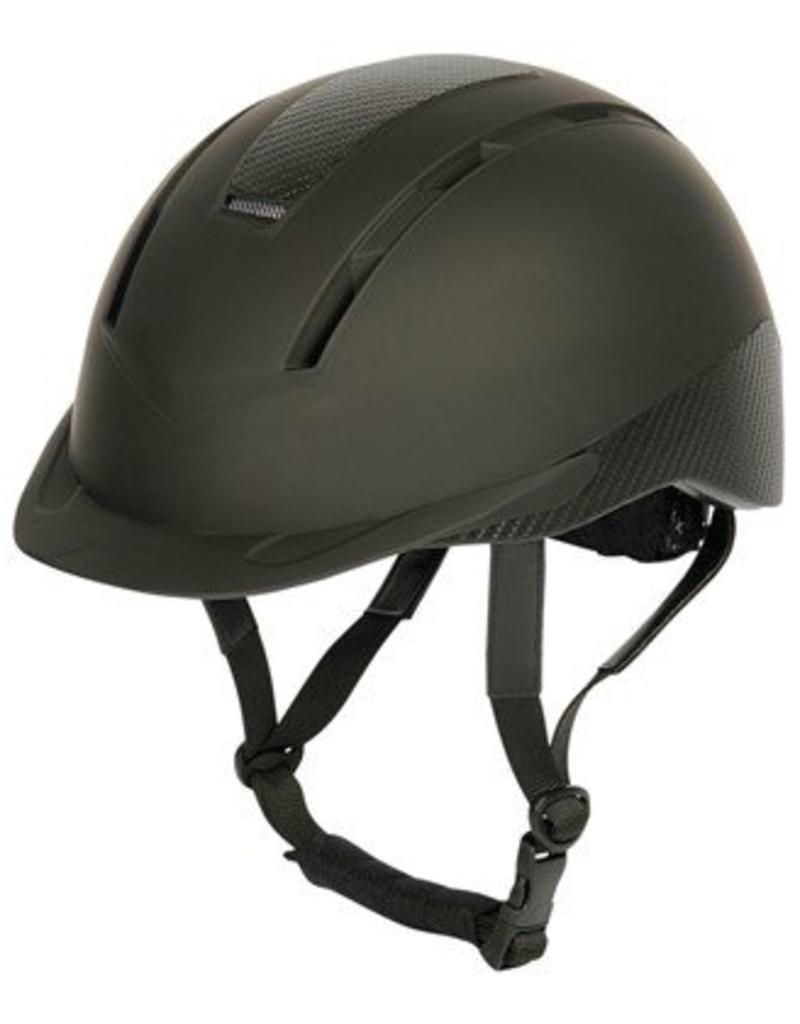 Harry Horse Safety ridinghelmet, Carbonero