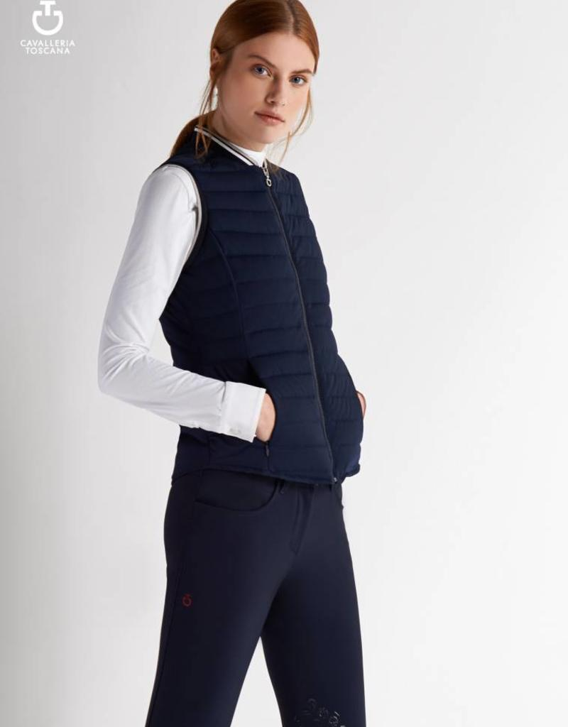 Cavalleria Toscana Bodywarmer CT Quilted Puffer GLD116