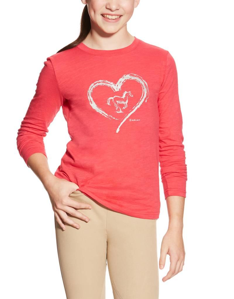Ariat Ariat top Azalea girls Heart