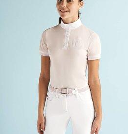 Cavalleria Toscana Competition Shirt Girl Polo POA009 Roze (2500)
