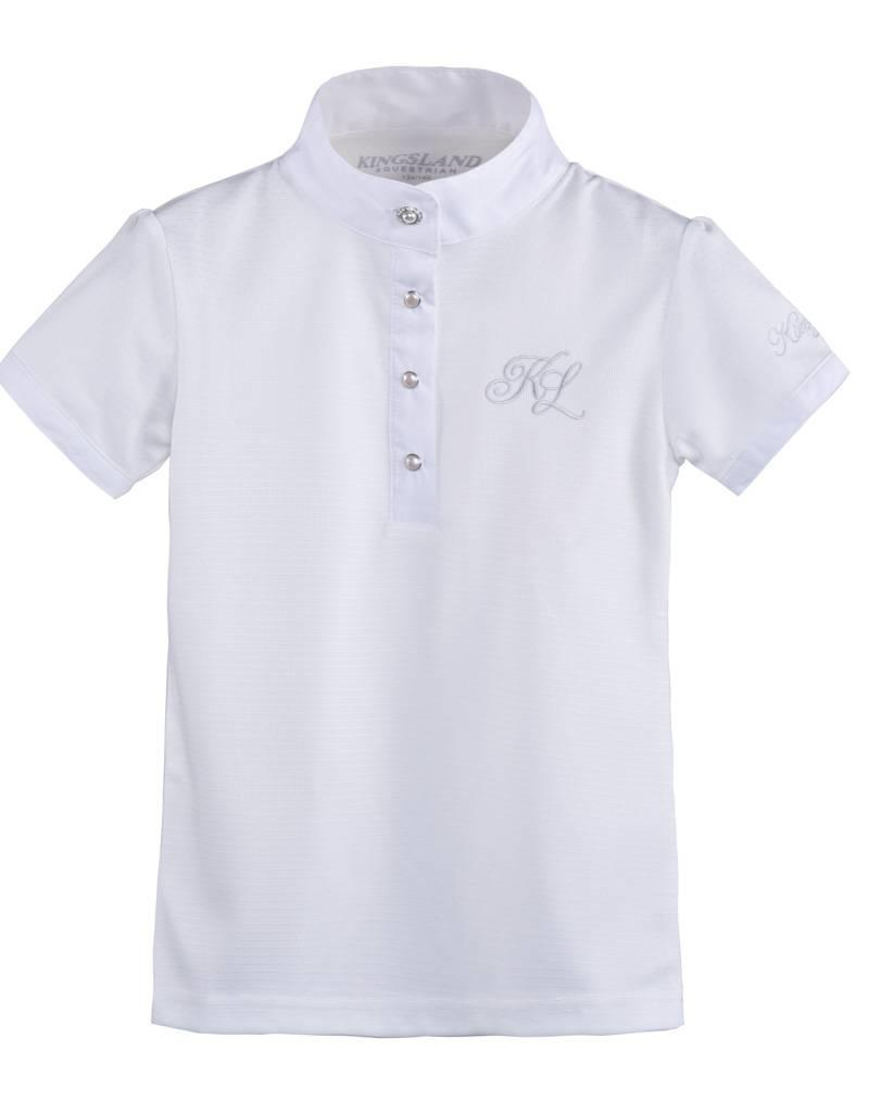 Kingsland Showshirt Kingsland Aurora Girls White