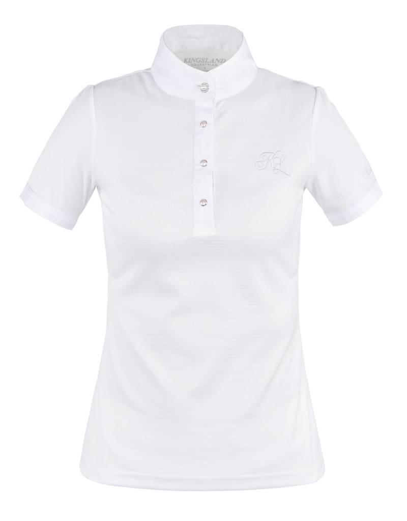 Kingsland Showshirt Kingsland Latta Short Sleeve White