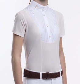 Cavalleria Toscana SHIRT CT RIBBED COLAR WIT