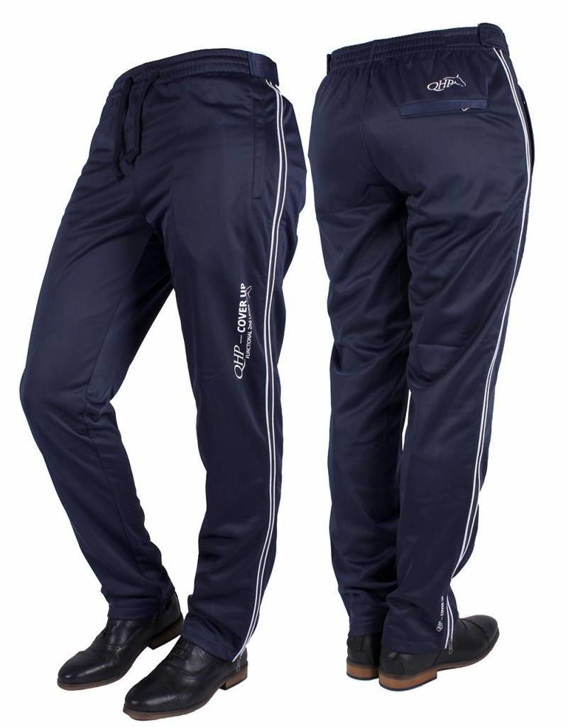 Qhp Training Pants Cover Up Navy