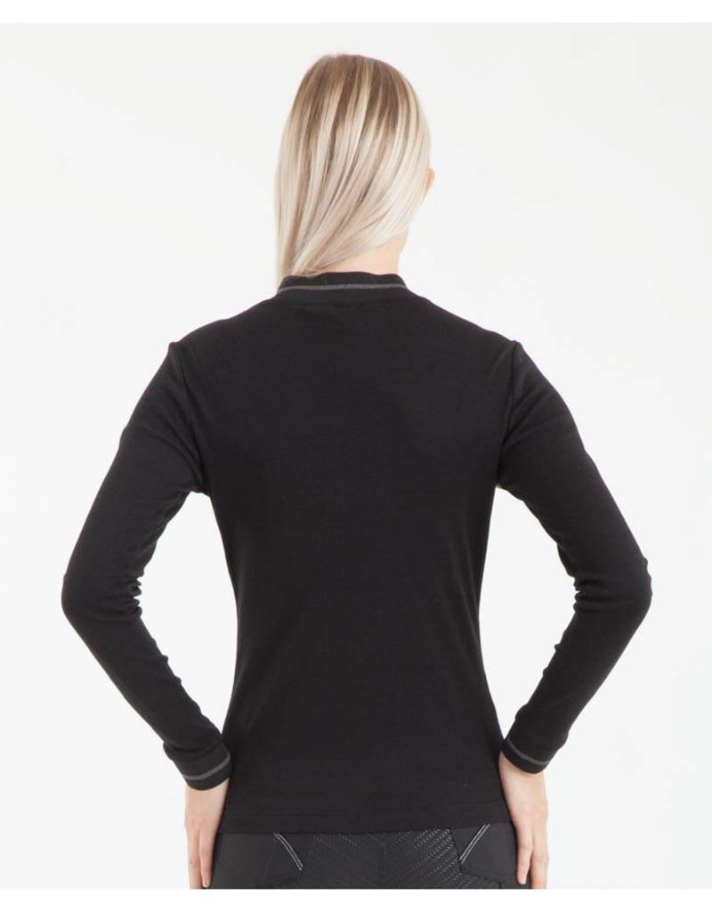 Anky Jumper Colourblock Shirt Zwart