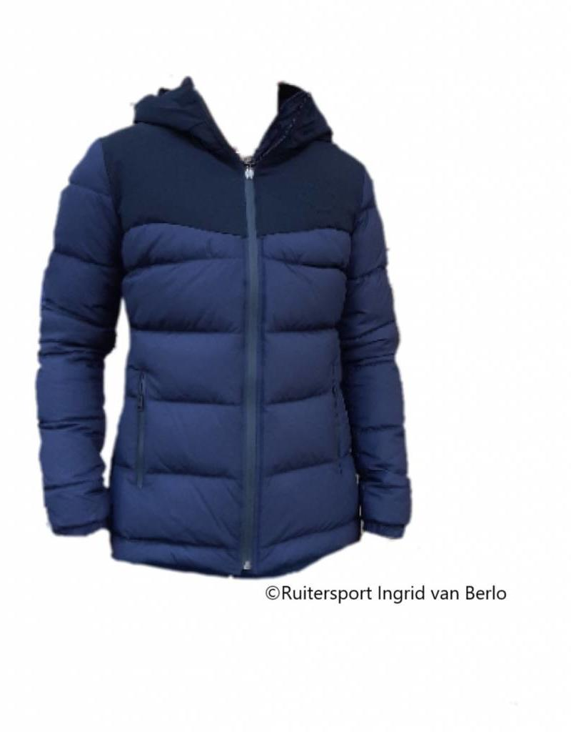 Cavalleria Toscana Quilted Matte Nylon Hooded Puffer Navy