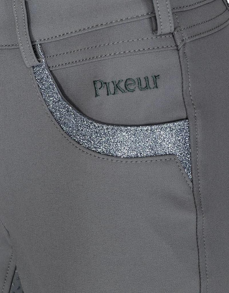 Pikeur Rijbroek Valessa Grip Steel Grey