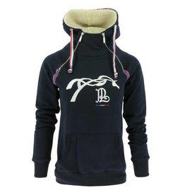 Penelope Leprevost Hoodie Sweater  Double Zip Navy