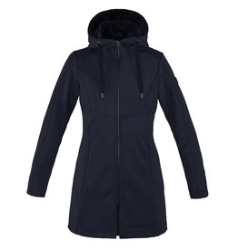 Kingsland Georgina Ladies Long Fleece Jacket Navy