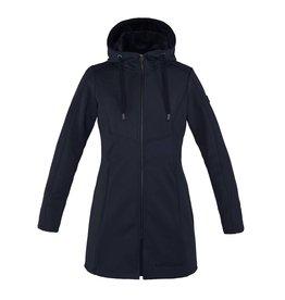 Kingsland Georgina dames long fleece Jacket Navy