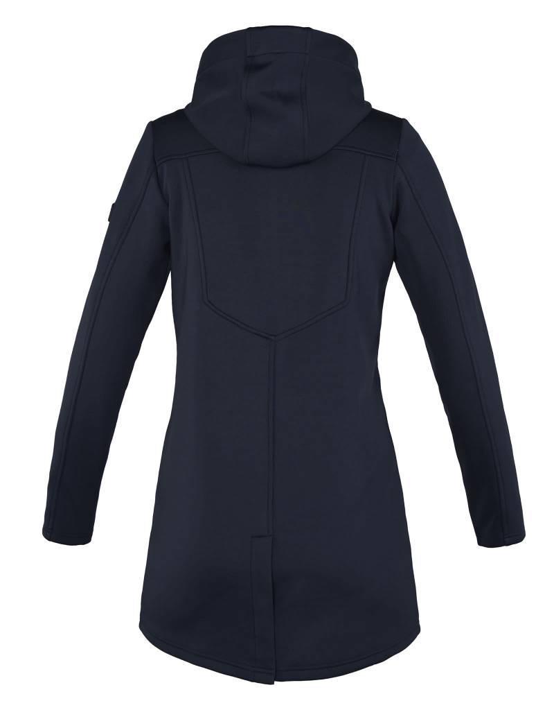 Kingsland Georgina Ladies Long Fleece Jacket Navy