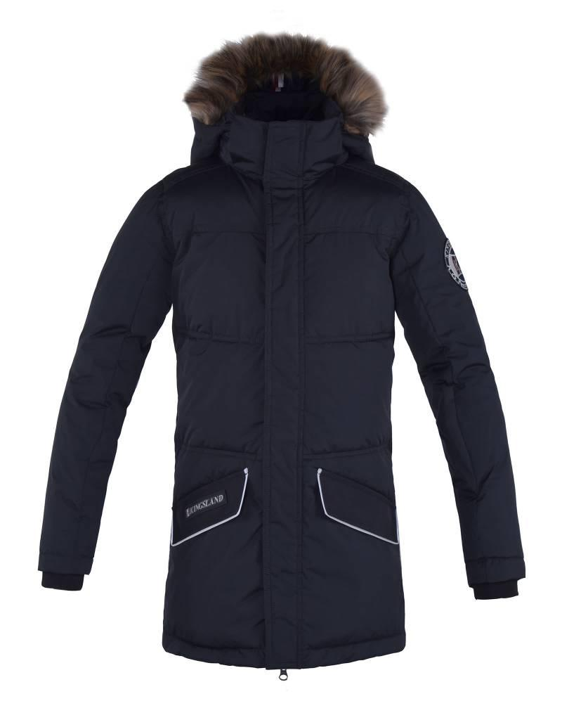 Kingsland Parka jas Keaton junior Navy